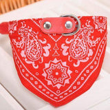Dog Scarf Collar Adjustable Bandana-collar-Red-S-Pet Kisses