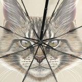 Maine Coon Cat Folding Umbrellas Fully-Automatic-umbrella-Pet Kisses