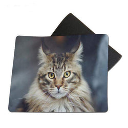 Maine Coon Cat Mouse Pad Non-Skid Rubber Pad-mouse pad-Pet Kisses