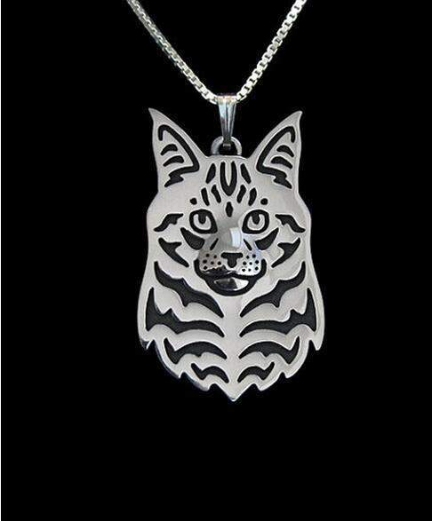 Maine Coon Cat Pendant Necklace-necklace-Pet Kisses