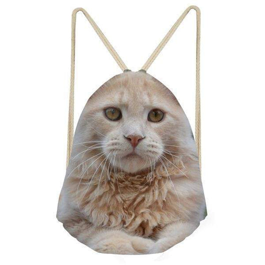 Maine Coon Drawstrings Bags-backpack-H9123Z3-Pet Kisses