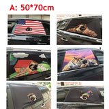 Pet Peek Car Window Sleeve Cover Dog Hang Out Car Window Barriers Cars Visor Cover Pet Car Window  Curtain Safe Rail Dog Supply