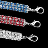 Rhinestone Jeweled Dog Collars-collar-Pet Kisses