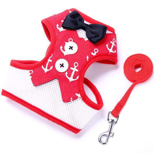 Tuxedo Bow Tie Jacket + Leash Set-leash-1-L-Pet Kisses