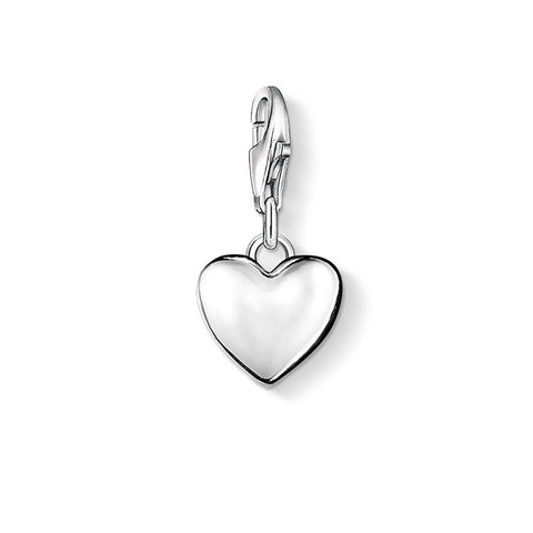 Thomas Sabo Mini Heart Silver Charm 0913-001-12