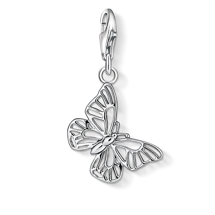 Thomas Sabo Silver Butterfly Charm 1038-001-12