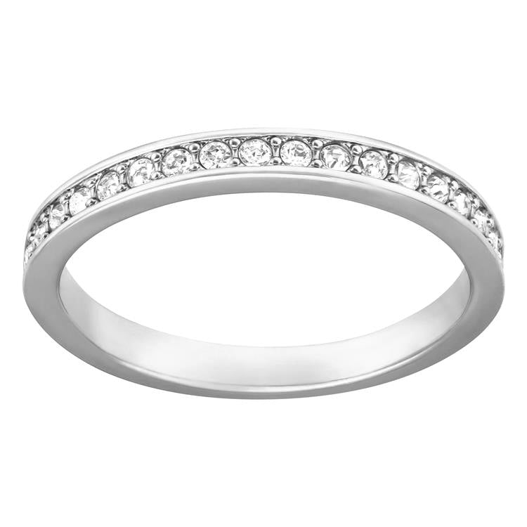 Swarovski Rare Crystal Rhodium Plated Eternity Ring