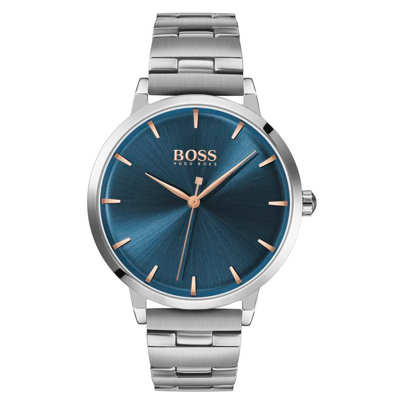 BOSS Ladies Marina Blue Steel Watch 1502501
