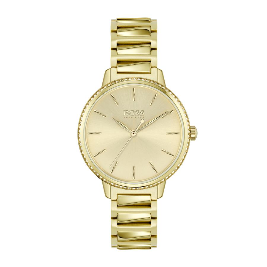 BOSS Ladies Signature Gold Watch 1502541