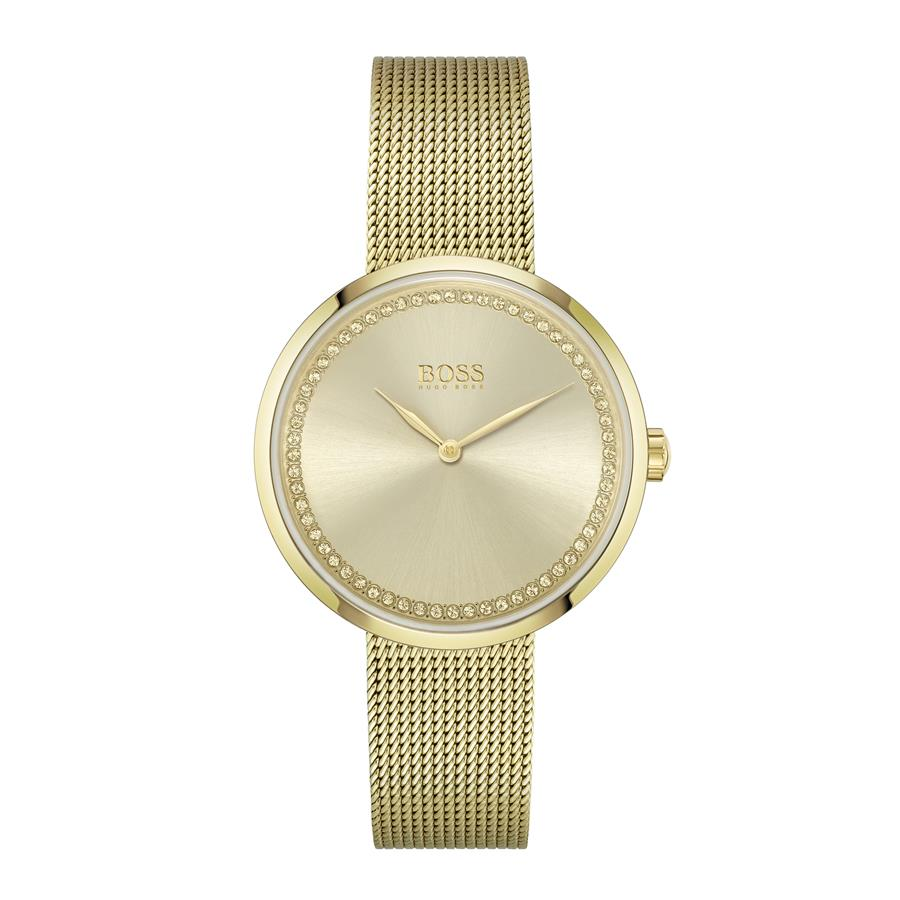 BOSS Ladies Praise Gold Watch 1502547