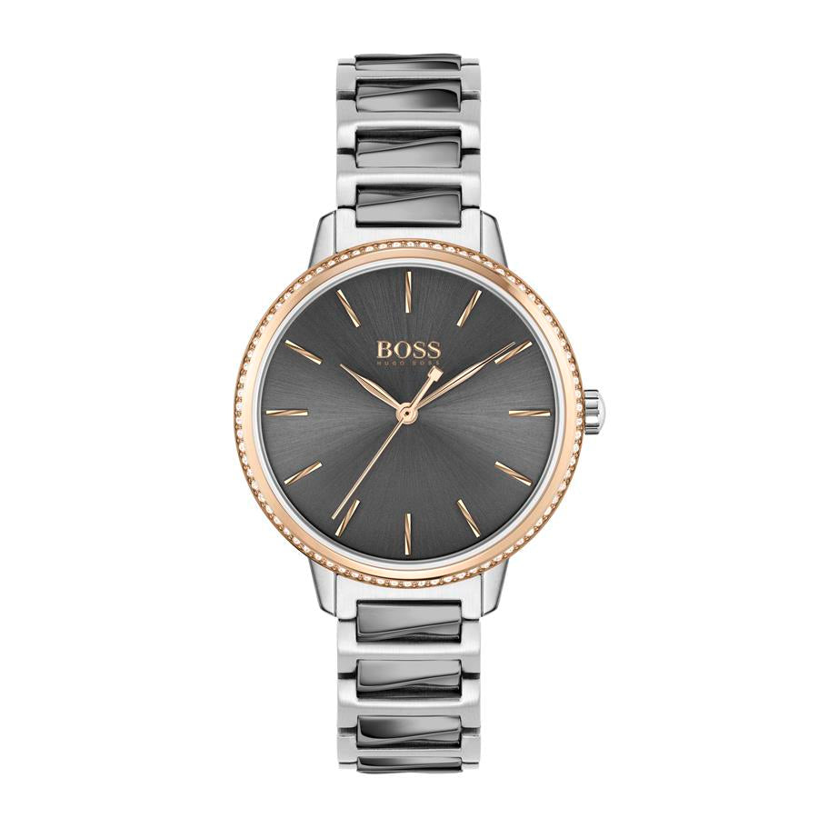 BOSS Ladies Signature Steel Watch 1502569