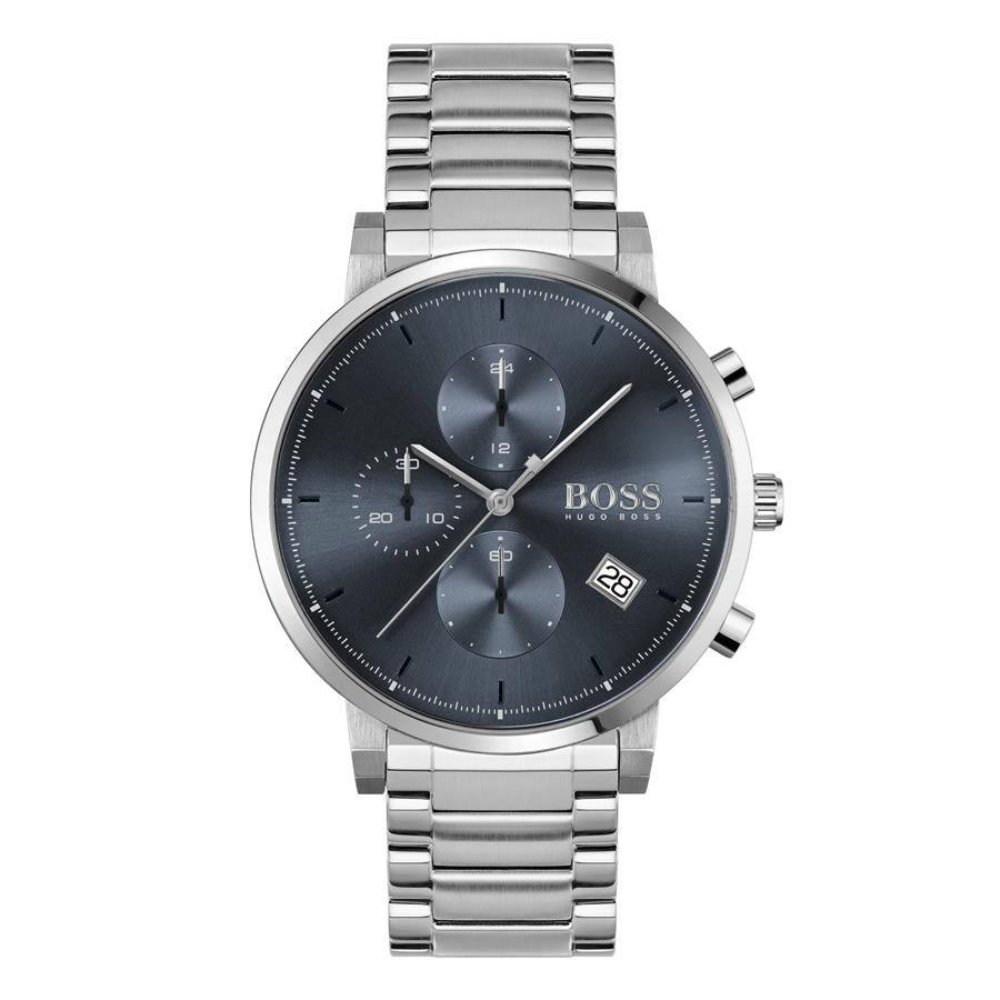 BOSS Gents Integrity Blue & Steel Watch 1513779