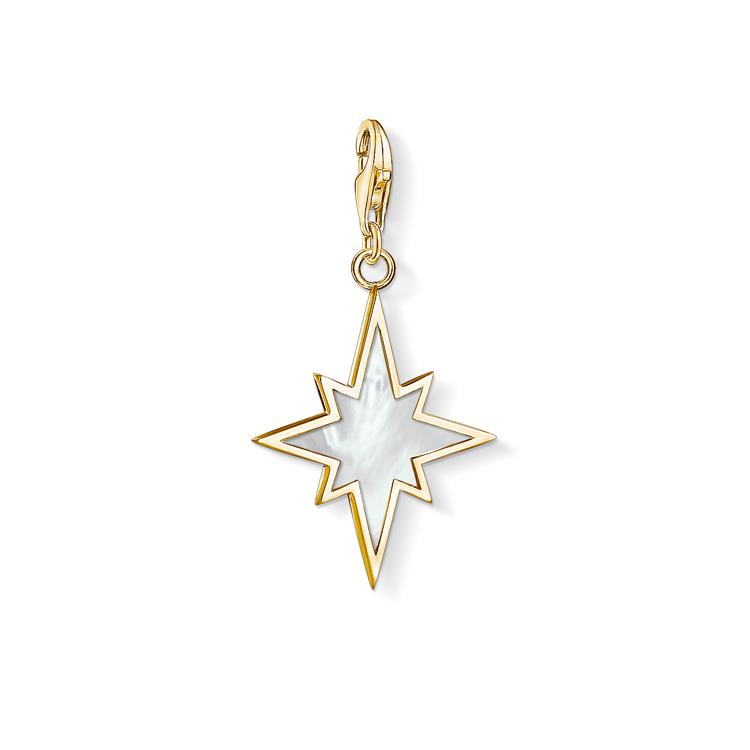 Thomas Sabo MOP Star Gold Charm 1539-429-14