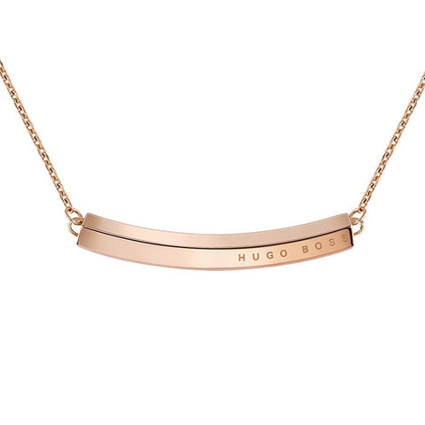 BOSS Ladies Insignia Gold Necklace 1580019