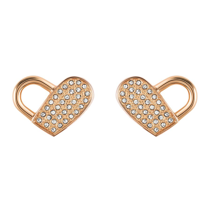 BOSS Ladies Soulmate Heart Stud Earrings 1580074