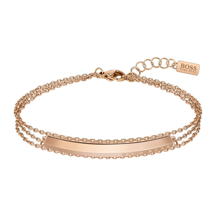 BOSS Ladies Insignia Gold Bracelet 1580090