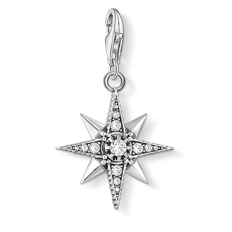 Thomas Sabo Silver Royalty Star Charm