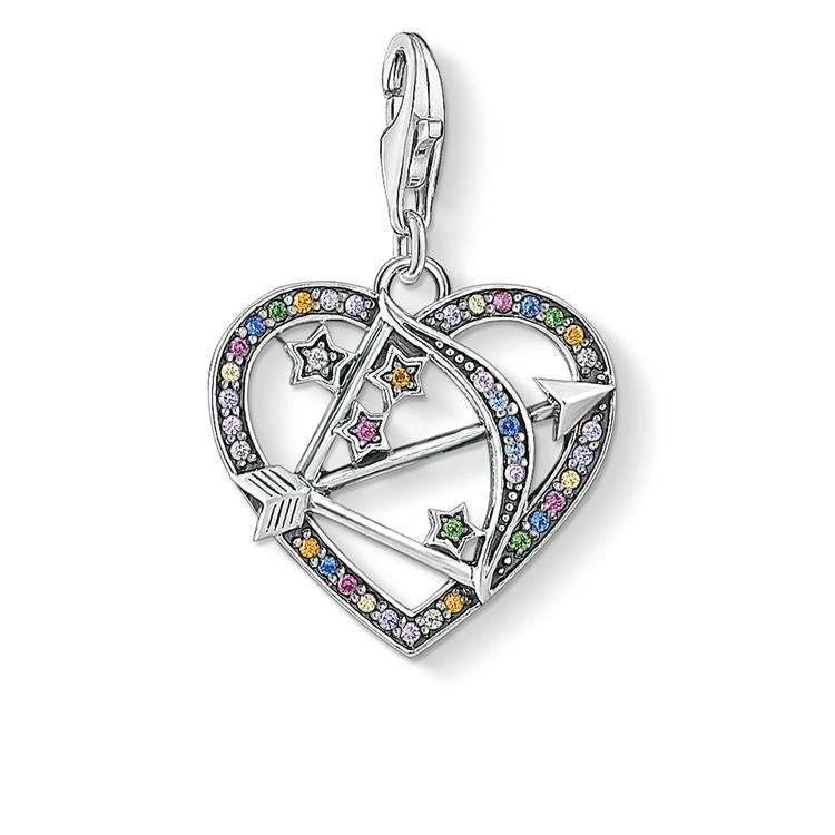 Thomas Sabo Colourful Cupid's Arrow Charm