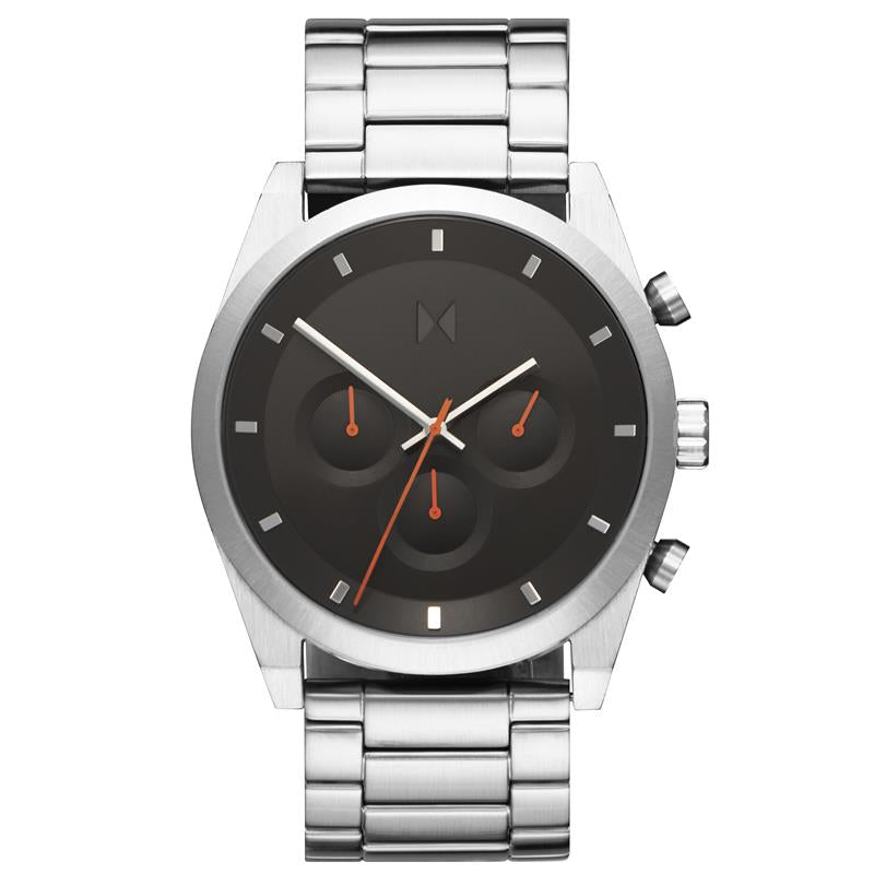 MVMT For Him Element Black Dial Steel Watch 28000046