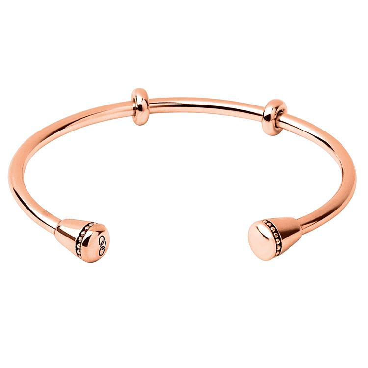 Links of London Rose Gold Bangle for Charms M 5010.3345
