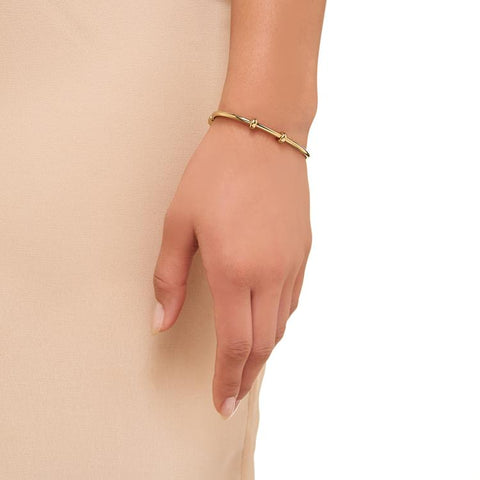 Links of London Gold Bangle for Charms M 5010.3346
