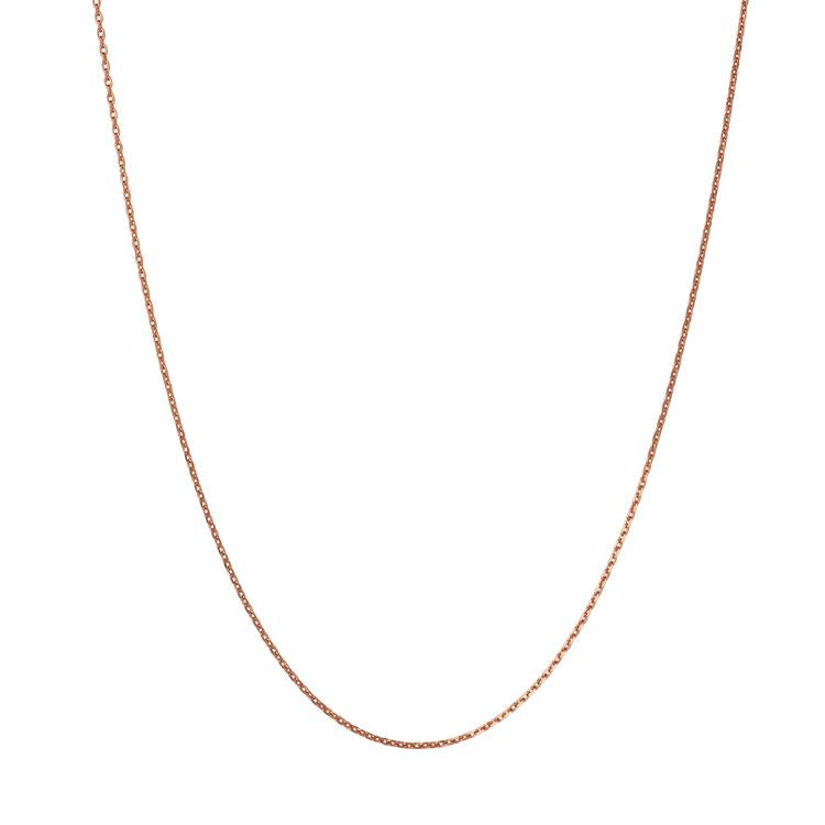 Links of London Rose Gold Cable Chain 50cm 5022.0786