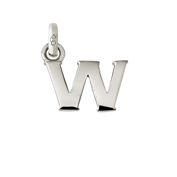Links of London Silver Initial W Charm 5030.1116