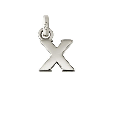Links of London Silver Initial X Charm 5030.1117