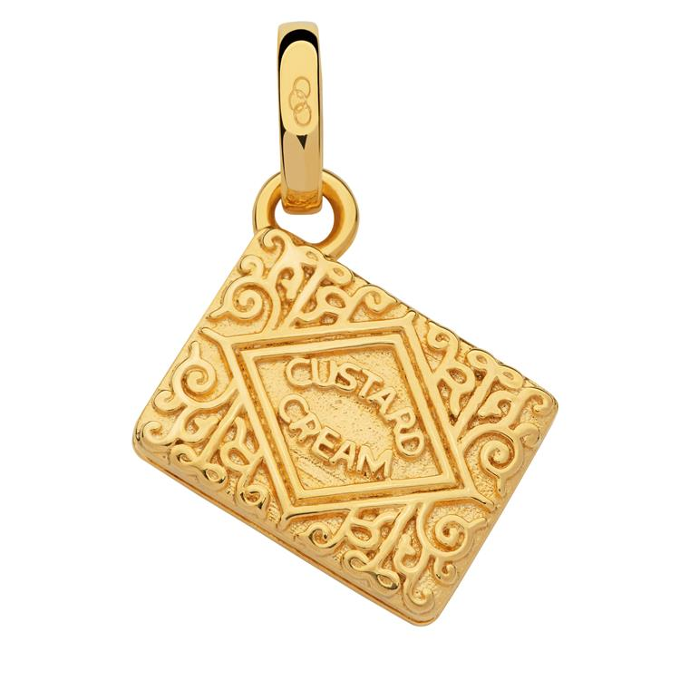 Links of London Gold Custard Cream Charm 5030.2537
