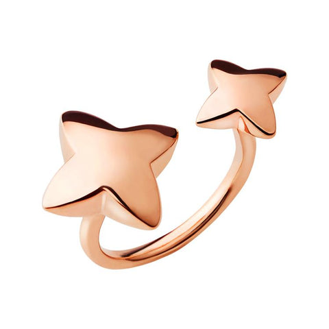 Links of London Rose Gold Double Ring 5045.7366