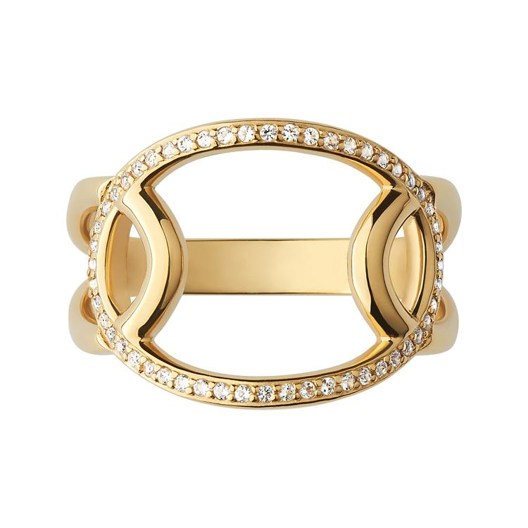 Links of London Ovals Gold Ring 5045.7508-9