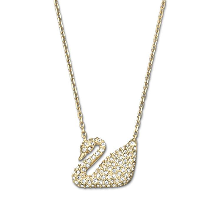 Swarovski Swan White Gold Necklace 5063921