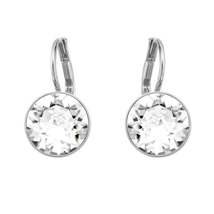 Swarovski Bella White Round Earrings 5085608