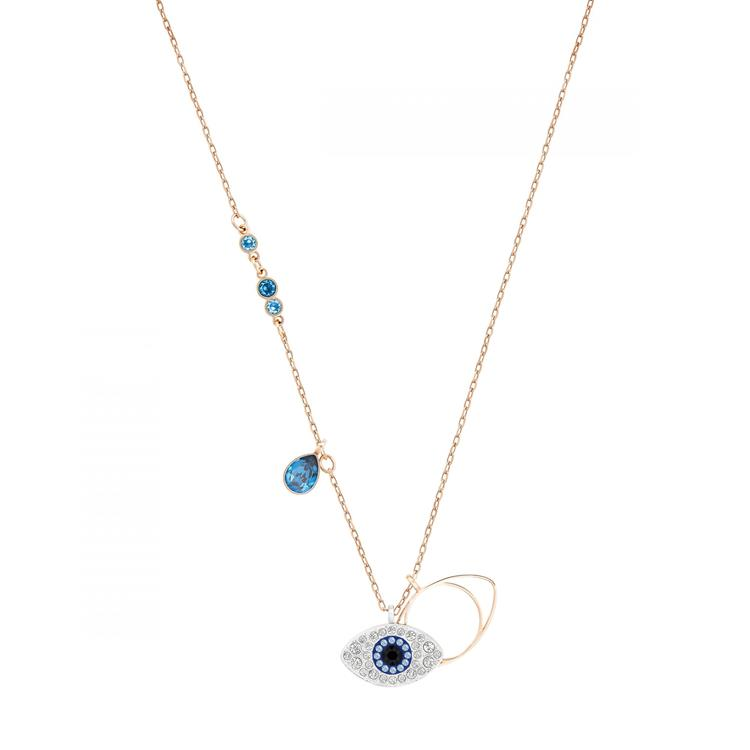 Swarovski Symbolic Evil Eye Blue Necklace 5172560