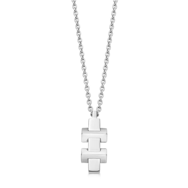 Links of London Brutalist Block Necklace