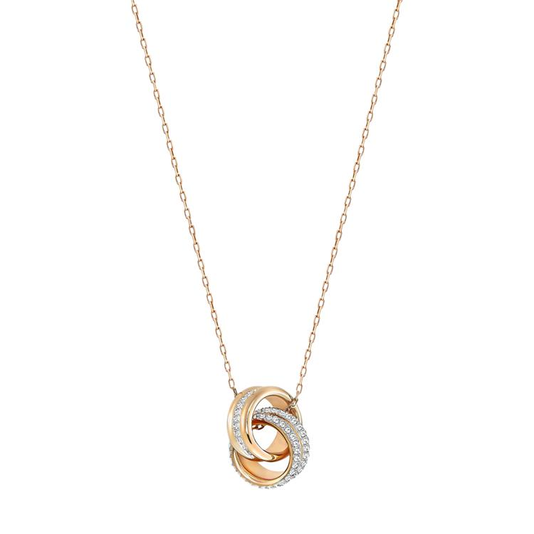 Swarovski Further Linked Rings Necklace 5240525