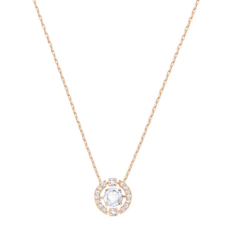 Swarovski Sparkling Dance Round Necklace 5272364