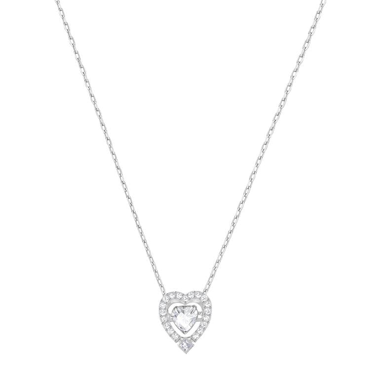 Swarovski Sparkling Dance Heart Necklace 5272365