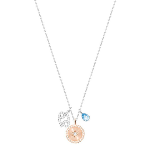 Swarovski Zodiac Cancer Silver Necklace 5349215