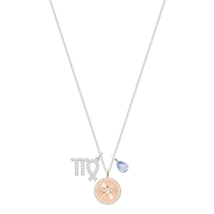 Swarovski Zodiac Virgo Silver Necklace 5349224