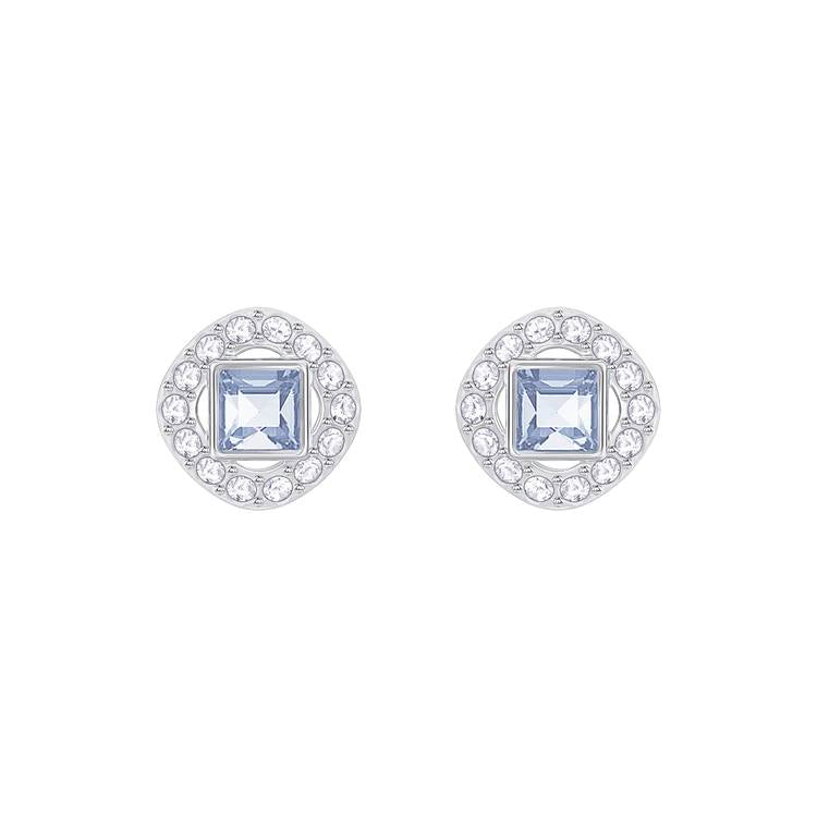 Swarovski Angelic Blue Square Earrings 5352048