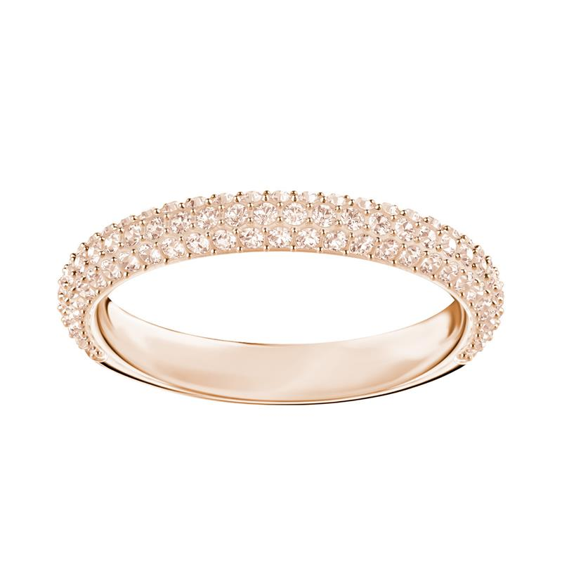Swarovski Stone Mini Pavé Band Rose Gold Ring