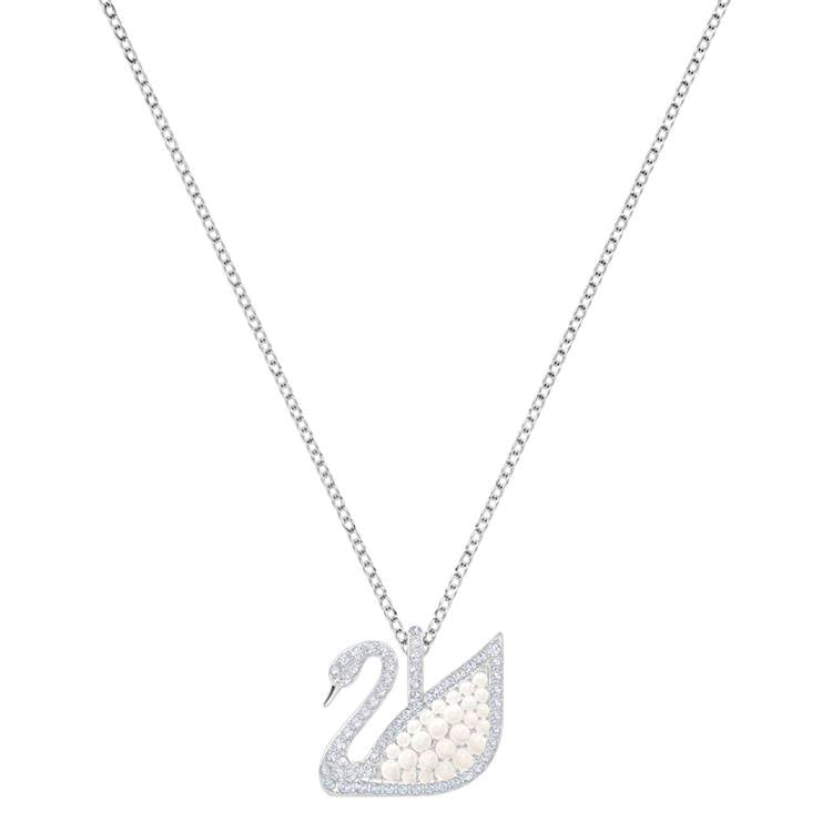 Swarovski Swan Crystal Pearl Necklace 5411791
