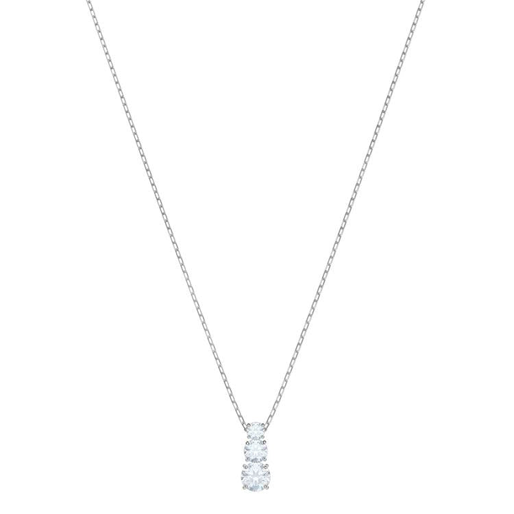 Swarovski Attract Trilogy Necklace Clear 5414970