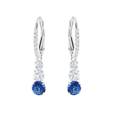 Swarovski Attract Trilogy Blue Earrings 5416154