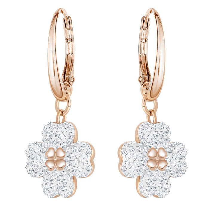 Swarovski Latisha Rose Gold Earrings 5420249