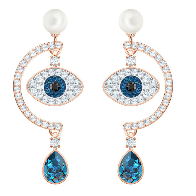 Swarovski Symbolic Evil Eye Drop Earrings 5425860