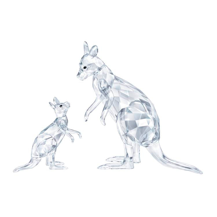 Swarovski Kangaroo Mother with Baby 5428563