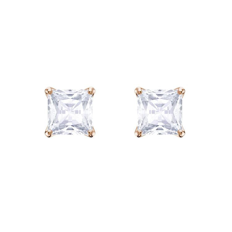 Swarovski Attract Rose Gold Square Earring 5431895