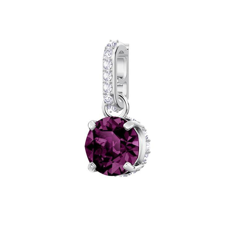 Swarovski Remix Charm February Birthstone 5437323